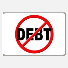 Anti / No Debt Banner