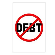 Anti / No Debt Postcards (Package of 8)