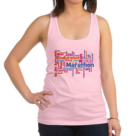 Marathon Womens.png Racerback Tank Top