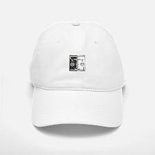Black & White Libra Scale Baseball Baseball Cap