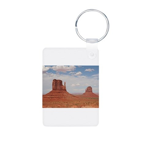 Monument Valley, Utah Aluminum Photo Keychain