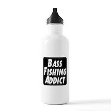 Bass Fishing Addict Sports Water Bottle