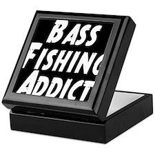 Bass Fishing Addict Keepsake Box