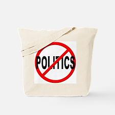 Anti / No Politics Tote Bag