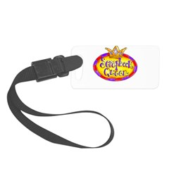 Scrapbook Queen Crown Luggage Tag