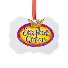 Scrapbook Queen Crown Ornament