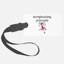 Scrapbooking Princess Luggage Tag