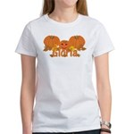 Halloween Pumpkin Gloria Women's T-Shirt