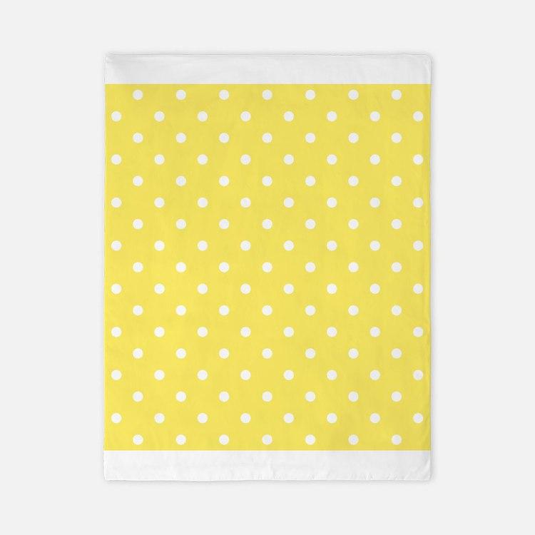 Yellow Polka Dot Bedding Yellow Polka Dot Duvet Covers