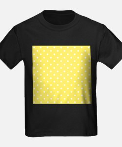 Yellow and White Dot Design. T
