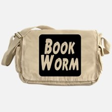 Book Worm Messenger Bag