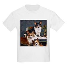 Corgi(3) Kids T-Shirt