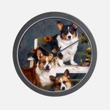 Corgi(3) Wall Clock