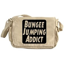 Bungee Jumping Addict Messenger Bag