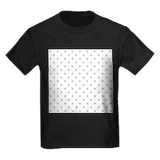 Light Gray Dot Pattern. T