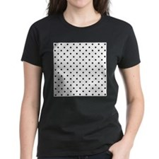 Black Polka Dot Pattern. Tee
