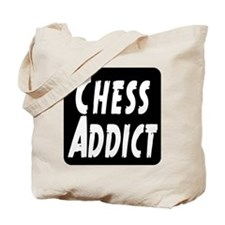 Chess Addict Tote Bag
