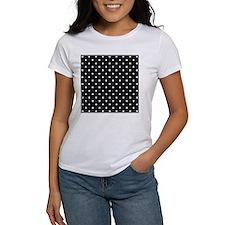Black and White Polka Dot. Tee
