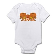 Halloween Pumpkin Hannah Infant Bodysuit