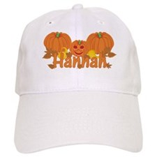 Halloween Pumpkin Hannah Baseball Cap