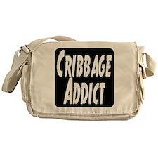 Cribbage Addict Messenger Bag
