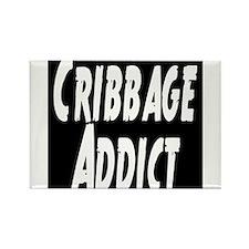 Cribbage Addict Rectangle Magnet