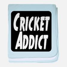 Cricket Addict baby blanket