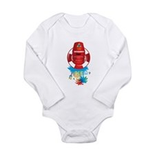 southernmost point key west Long Sleeve Infant Bod