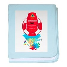 southernmost point key west baby blanket
