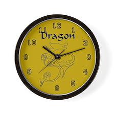 Tanya Dragon Wall Clock 10 inch
