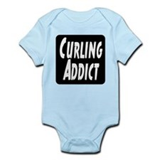 Curling addict Infant Bodysuit