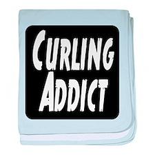 Curling addict baby blanket