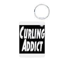 Curling addict Keychains