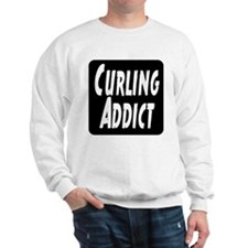 Curling addict Sweatshirt