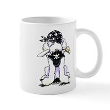 Poodle Pirate Mug