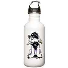 Poodle Pirate Water Bottle
