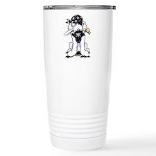 Poodle Pirate Travel Mug