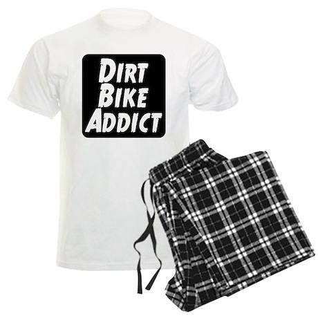 Dirt Bike Addict Men's Light Pajamas