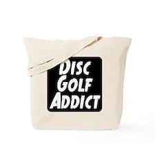 Disc Golf Addict Tote Bag