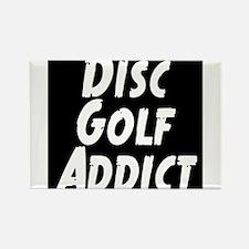 Disc Golf Addict Rectangle Magnet