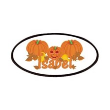 Halloween Pumpkin Isabel Patches