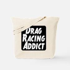 Drag Racing Addict Tote Bag