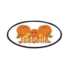 Halloween Pumpkin Isabelle Patches