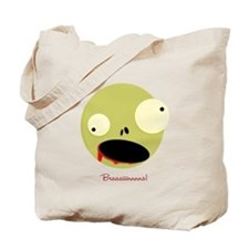 Zombies want your brains Tote Bag