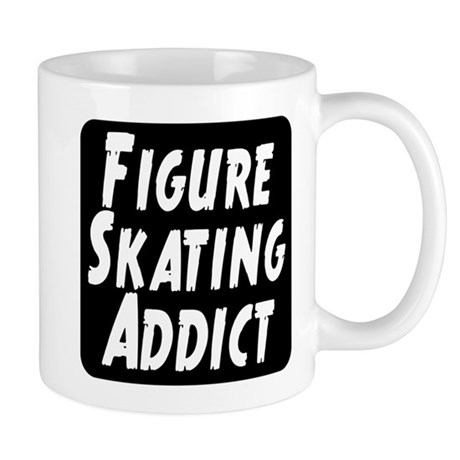 Figure Skating Addict Mug