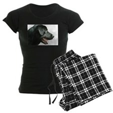 Black Lab Head Pajamas