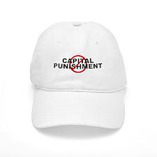 Anti / No Baseball Capital Punishment Baseball Cap