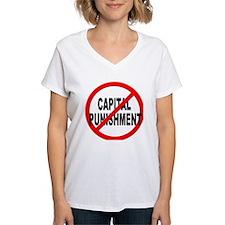 Anti / No Capital Punishment Shirt