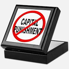 Anti / No Capital Punishment Keepsake Box