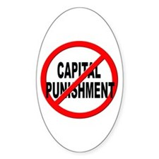 Anti / No Capital Punishment Decal